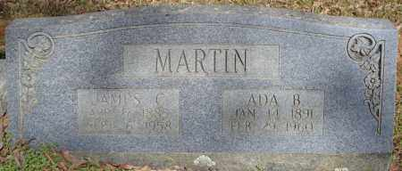 MARTIN, JAMES C. - Faulkner County, Arkansas | JAMES C. MARTIN - Arkansas Gravestone Photos
