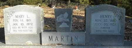MARTIN, MARY L. - Faulkner County, Arkansas | MARY L. MARTIN - Arkansas Gravestone Photos
