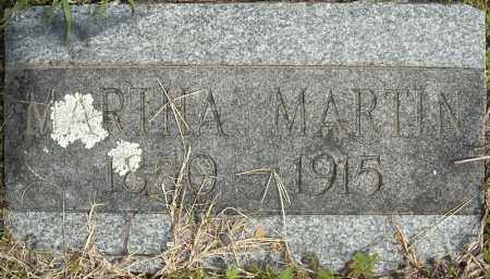 MARTIN, MARTHA - Faulkner County, Arkansas | MARTHA MARTIN - Arkansas Gravestone Photos