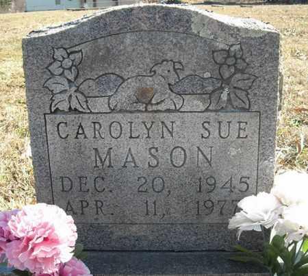 MASON, CAROLYN SUE - Faulkner County, Arkansas   CAROLYN SUE MASON - Arkansas Gravestone Photos