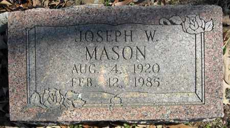 MASON, JOSEPH W. - Faulkner County, Arkansas | JOSEPH W. MASON - Arkansas Gravestone Photos