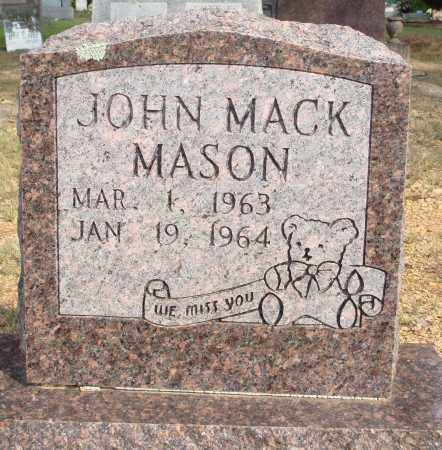 MASON, JOHN MACK - Faulkner County, Arkansas | JOHN MACK MASON - Arkansas Gravestone Photos