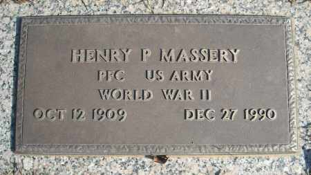 MASSERY (VETERAN WWII), HENRY P - Faulkner County, Arkansas | HENRY P MASSERY (VETERAN WWII) - Arkansas Gravestone Photos