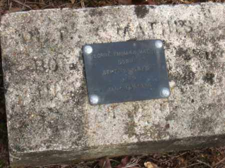 MATHIS, GEORGE THOMAS - Faulkner County, Arkansas | GEORGE THOMAS MATHIS - Arkansas Gravestone Photos