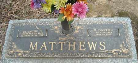 MATTHEWS, BLANCHE B. - Faulkner County, Arkansas | BLANCHE B. MATTHEWS - Arkansas Gravestone Photos