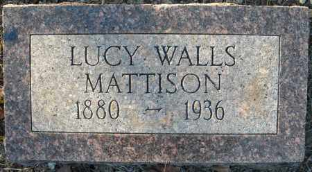 MATTISON, LUCY - Faulkner County, Arkansas | LUCY MATTISON - Arkansas Gravestone Photos