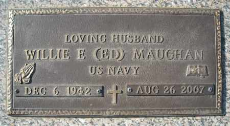 "MAUGHAN (VETERAN), WILLIE E ""ED"" - Faulkner County, Arkansas 