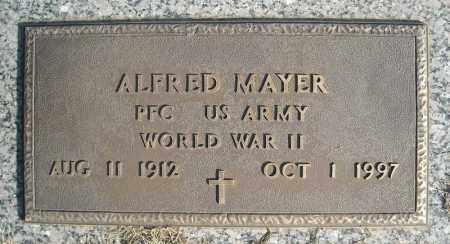 MAYER (VETERAN WWII), ALFRED - Faulkner County, Arkansas | ALFRED MAYER (VETERAN WWII) - Arkansas Gravestone Photos