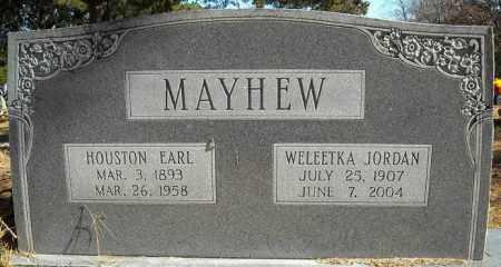 MAYHEW, HOUSTON EARL - Faulkner County, Arkansas | HOUSTON EARL MAYHEW - Arkansas Gravestone Photos