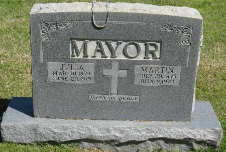 MAYOR, MARTIN - Faulkner County, Arkansas | MARTIN MAYOR - Arkansas Gravestone Photos