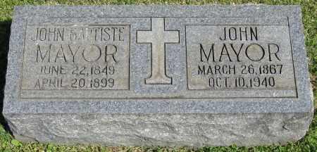 MAYOR, JOHN - Faulkner County, Arkansas   JOHN MAYOR - Arkansas Gravestone Photos
