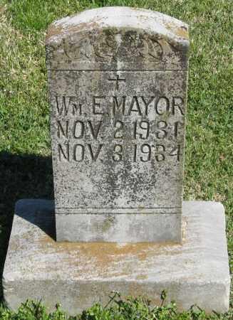 MAYOR, WM. E - Faulkner County, Arkansas | WM. E MAYOR - Arkansas Gravestone Photos