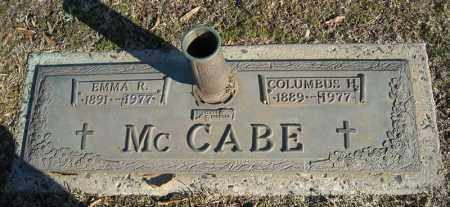 MCCABE, COLUMBUS H. - Faulkner County, Arkansas | COLUMBUS H. MCCABE - Arkansas Gravestone Photos