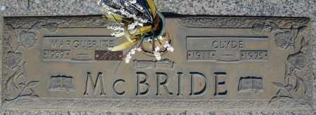 MCBRIDE, CLYDE - Faulkner County, Arkansas   CLYDE MCBRIDE - Arkansas Gravestone Photos