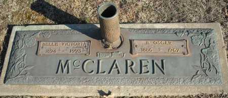 MCCLAREN, B. OSCAR - Faulkner County, Arkansas | B. OSCAR MCCLAREN - Arkansas Gravestone Photos