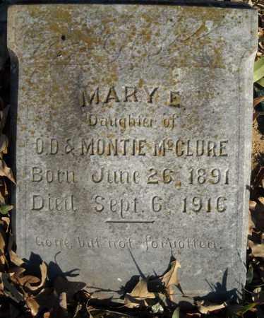 MCCLURE, MARY E. - Faulkner County, Arkansas   MARY E. MCCLURE - Arkansas Gravestone Photos