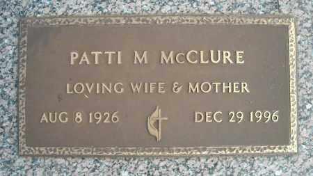 MCCLURE, PATTI M. - Faulkner County, Arkansas | PATTI M. MCCLURE - Arkansas Gravestone Photos