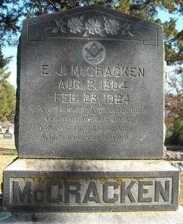 MCCRACKEN, ELI JASPER - Faulkner County, Arkansas | ELI JASPER MCCRACKEN - Arkansas Gravestone Photos