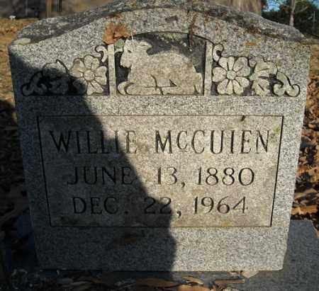 MCCUIEN, WILLIE - Faulkner County, Arkansas | WILLIE MCCUIEN - Arkansas Gravestone Photos