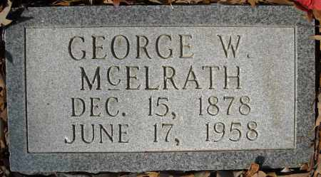 MCELRATH, GEORGE W. - Faulkner County, Arkansas | GEORGE W. MCELRATH - Arkansas Gravestone Photos