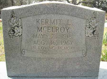 MCELROY, KERMIT L. - Faulkner County, Arkansas   KERMIT L. MCELROY - Arkansas Gravestone Photos