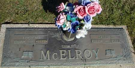 MCELROY, LUCY M. - Faulkner County, Arkansas | LUCY M. MCELROY - Arkansas Gravestone Photos
