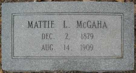 "MCGAHA, MARTHA LOU ""MATTIE"" - Faulkner County, Arkansas   MARTHA LOU ""MATTIE"" MCGAHA - Arkansas Gravestone Photos"