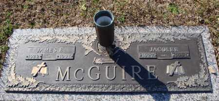 MCGUIRE, JAMES E. - Faulkner County, Arkansas | JAMES E. MCGUIRE - Arkansas Gravestone Photos