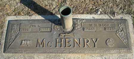 MCHENRY, W.H. BUCK - Faulkner County, Arkansas | W.H. BUCK MCHENRY - Arkansas Gravestone Photos