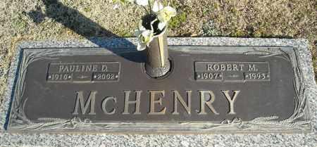 MCHENRY, PAULINE D. - Faulkner County, Arkansas | PAULINE D. MCHENRY - Arkansas Gravestone Photos