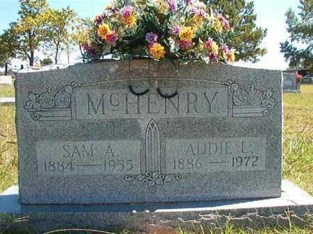 MCHENRY, SAM ARCHIBALD - Faulkner County, Arkansas | SAM ARCHIBALD MCHENRY - Arkansas Gravestone Photos