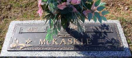 MCKASKLE, FATHEL B. - Faulkner County, Arkansas | FATHEL B. MCKASKLE - Arkansas Gravestone Photos
