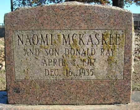 MCKASKLE, NAOMI - Faulkner County, Arkansas | NAOMI MCKASKLE - Arkansas Gravestone Photos