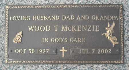 MCKENZIE, WOOD T. - Faulkner County, Arkansas   WOOD T. MCKENZIE - Arkansas Gravestone Photos