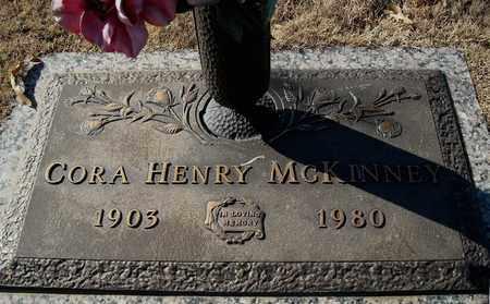 HENRY MCKINNEY, CORA - Faulkner County, Arkansas | CORA HENRY MCKINNEY - Arkansas Gravestone Photos