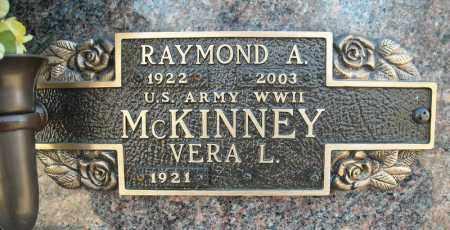 MCKINNEY (VETERAN WWII), RAYMOND A - Faulkner County, Arkansas   RAYMOND A MCKINNEY (VETERAN WWII) - Arkansas Gravestone Photos