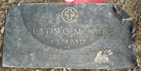 MCNABB (VETERAN), CURTIS C - Faulkner County, Arkansas | CURTIS C MCNABB (VETERAN) - Arkansas Gravestone Photos
