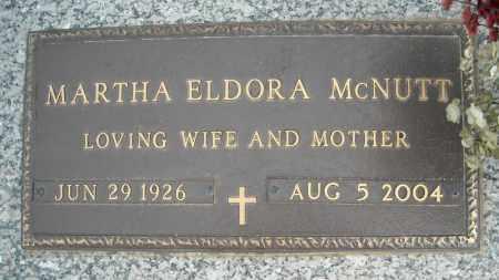 MCNUTT, MARTHA ELDORA - Faulkner County, Arkansas   MARTHA ELDORA MCNUTT - Arkansas Gravestone Photos