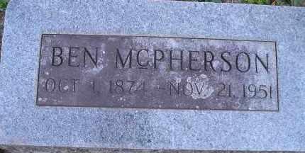 MCPHERSON, BEN - Faulkner County, Arkansas | BEN MCPHERSON - Arkansas Gravestone Photos