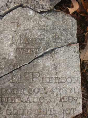 MCPHERSON, MARY E. - Faulkner County, Arkansas | MARY E. MCPHERSON - Arkansas Gravestone Photos