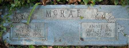 MCRAE, ANNIE E. - Faulkner County, Arkansas | ANNIE E. MCRAE - Arkansas Gravestone Photos