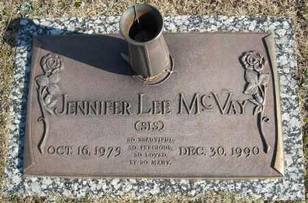 MCVAY, JENNIFER LEE - Faulkner County, Arkansas | JENNIFER LEE MCVAY - Arkansas Gravestone Photos