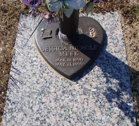MEEK, JESSICA NICHOLE - Faulkner County, Arkansas | JESSICA NICHOLE MEEK - Arkansas Gravestone Photos