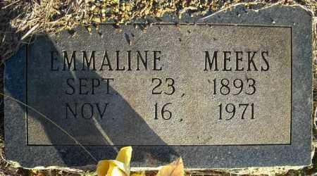 MEEKS, EMMALINE - Faulkner County, Arkansas | EMMALINE MEEKS - Arkansas Gravestone Photos