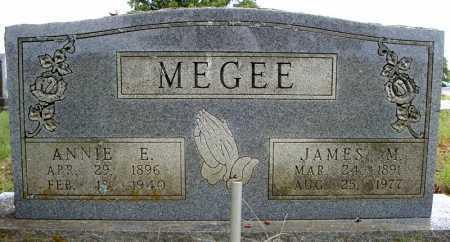 MEGEE, ANNIE E. - Faulkner County, Arkansas   ANNIE E. MEGEE - Arkansas Gravestone Photos