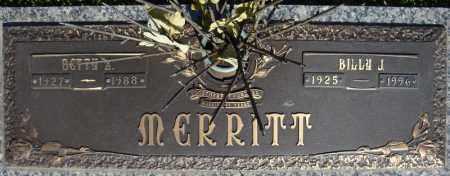 MERRITT, BETTY Z. - Faulkner County, Arkansas | BETTY Z. MERRITT - Arkansas Gravestone Photos