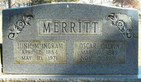 INGRAM MERRITT, JUNIE M. - Faulkner County, Arkansas | JUNIE M. INGRAM MERRITT - Arkansas Gravestone Photos