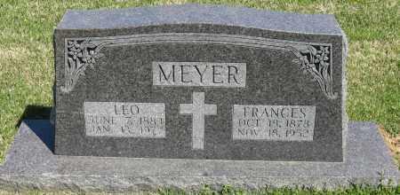 MEYER, FRANCES - Faulkner County, Arkansas   FRANCES MEYER - Arkansas Gravestone Photos