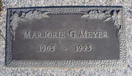 MEYER, MARJORIE G. - Faulkner County, Arkansas | MARJORIE G. MEYER - Arkansas Gravestone Photos