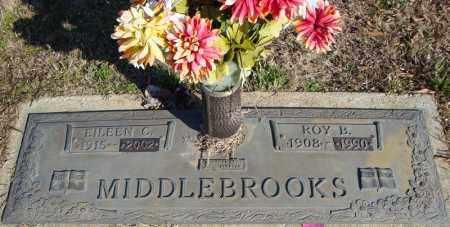 MIDDLEBROOKS, ROY B. - Faulkner County, Arkansas | ROY B. MIDDLEBROOKS - Arkansas Gravestone Photos